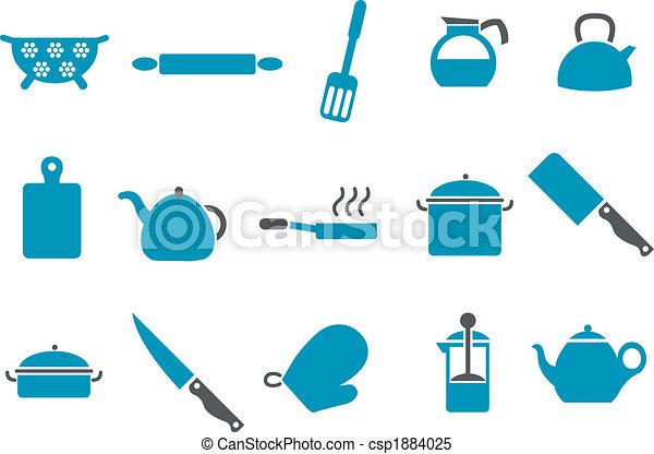 Cooking Tools Icon Set - csp1884025