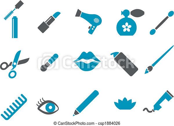 Make-up Icon Set - csp1884026