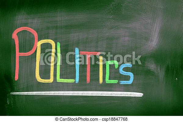 Politics Concept - csp18847768