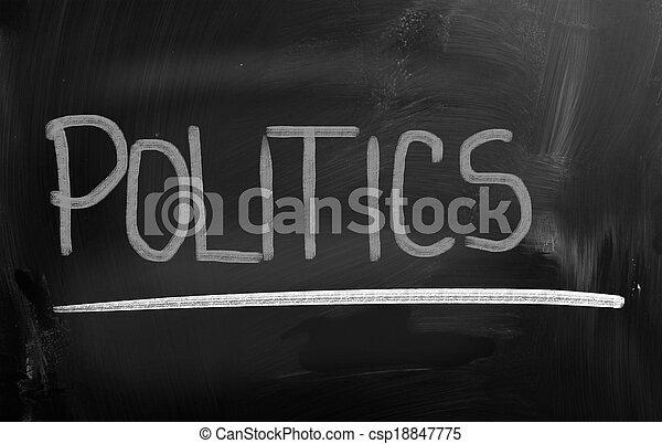 Politics Concept - csp18847775