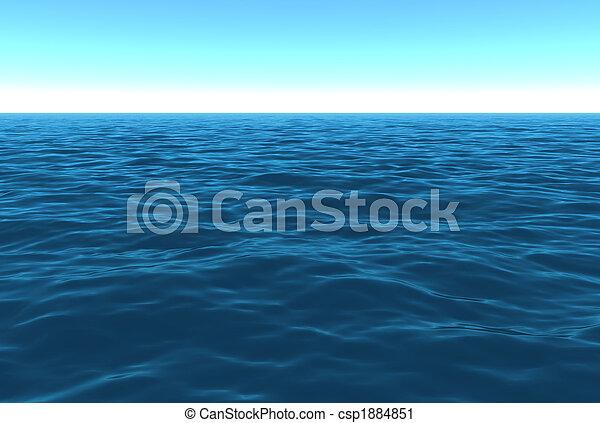 Daytime Ocean Scenic - csp1884851