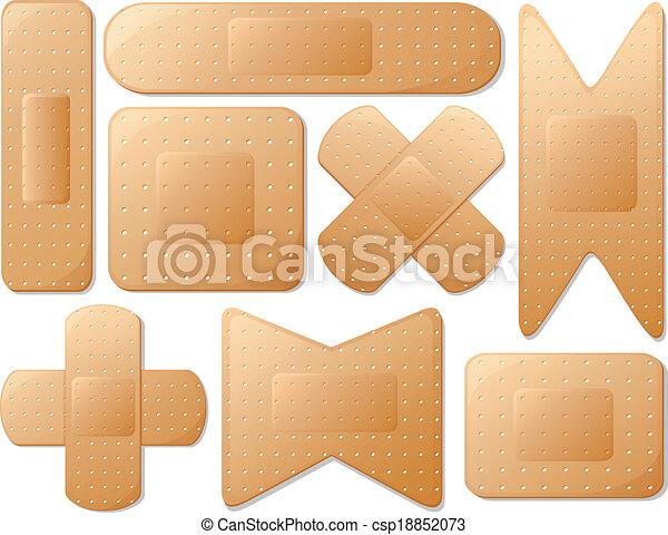 Medical plasters - csp18852073