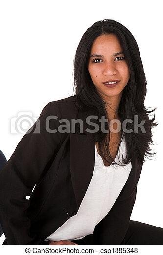 從事工商業的女性, 年輕, 成人 - csp1885348