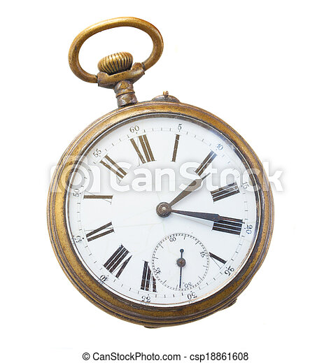 antique clock - csp18861608