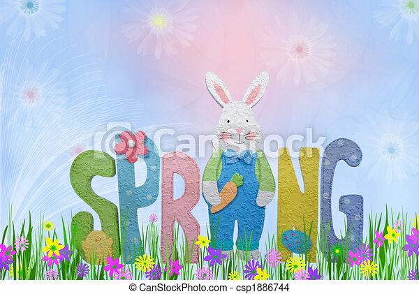 Spring Has Sprung - csp1886744