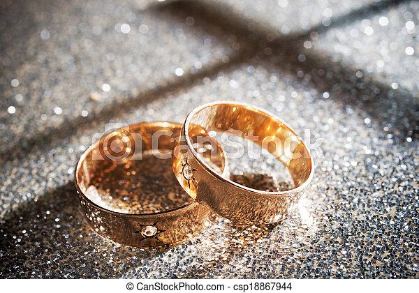 Wedding Rings - csp18867944
