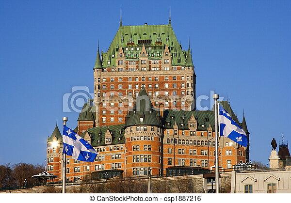 Quebec City tourist attraction - csp1887216
