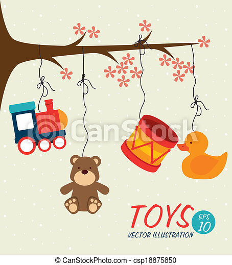 baby toys design - csp18875850