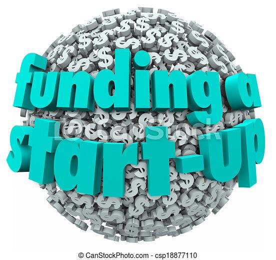 Business Funding Clip Art