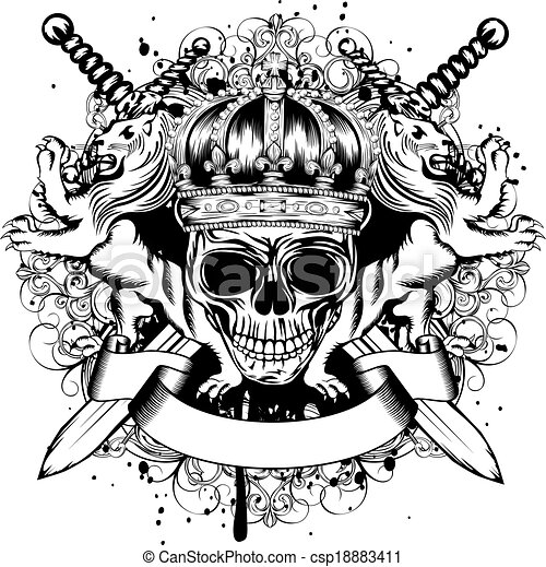 Jack Skellington Photo as well Skull In Crown Lions And Crossed Swords 18883411 likewise Tattoo Stencils moreover Hand drawn flowers likewise Flower Outline. on sugar skull sketches