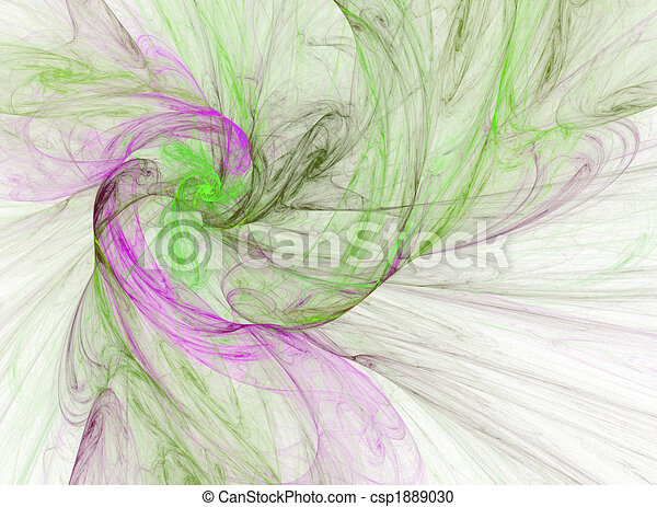smoky purple and green spiral - csp1889030