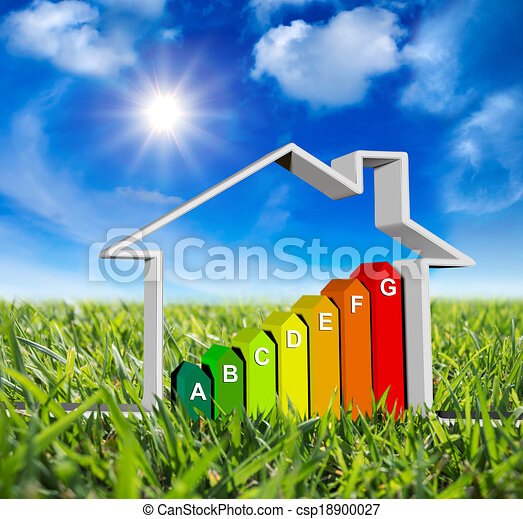 house with energy classes - csp18900027