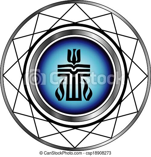 Symbol of Presbyterian religion - csp18908273