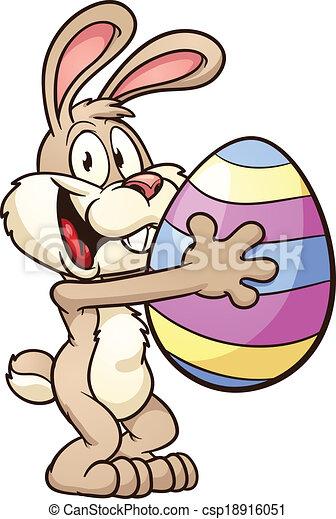 Easter bunny - csp18916051