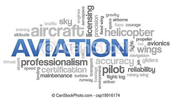 Aviation Word Cloud Blue Bubble Tags Tree Vector - csp18916174