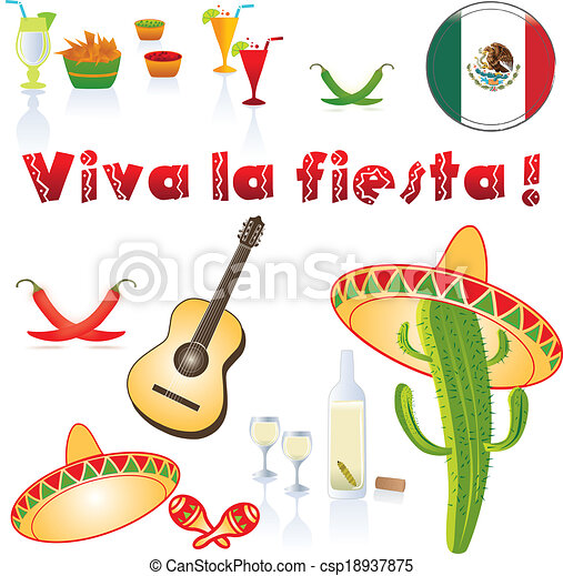 Fiesta Illustrations and Clipart. 6,986 Fiesta royalty free ...