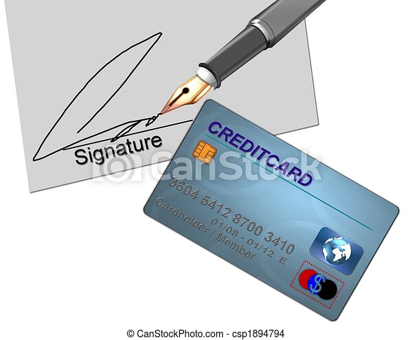 credit card contract - csp1894794