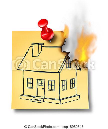 Archivi fotografici di casa assicurazione concetto con for Aprire i piani casa artigiano concetto