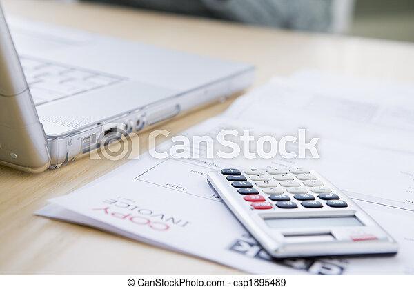 Paying The Bills - csp1895489