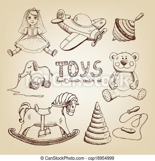 玩具飞机是怎么画的