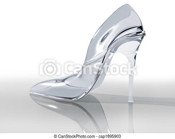 Glass slipper - csp1895903