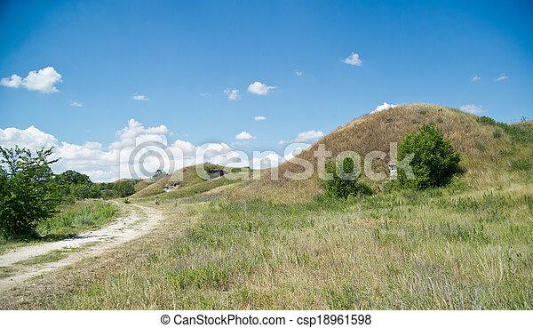 Russian military fortress.  Kerch, Crimea - csp18961598