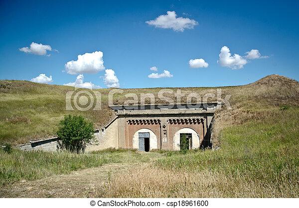 Russian military fortress.  Kerch, Crimea - csp18961600
