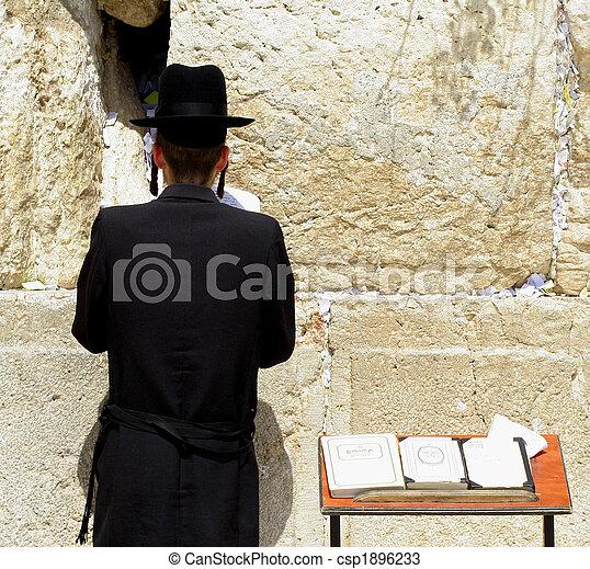 jew praying - csp1896233