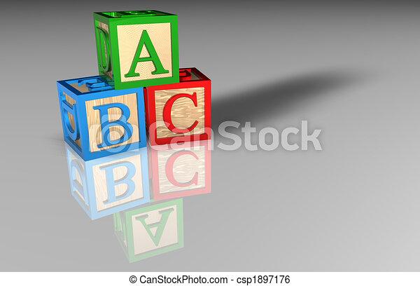 Children\'s Toy Blocks - csp1897176