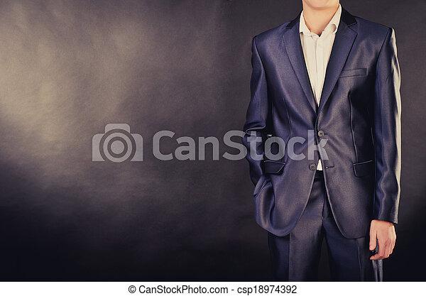 man in suit - csp18974392