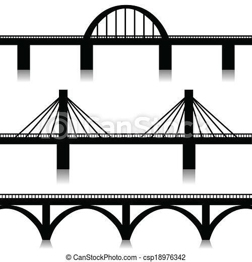 Bridges set - csp18976342