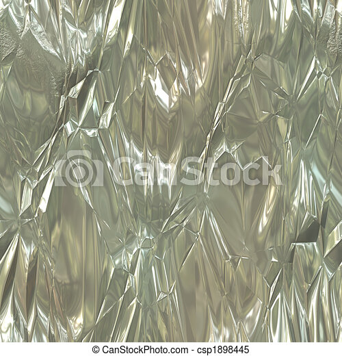 Wrinkled Tinfoil Texture - csp1898445