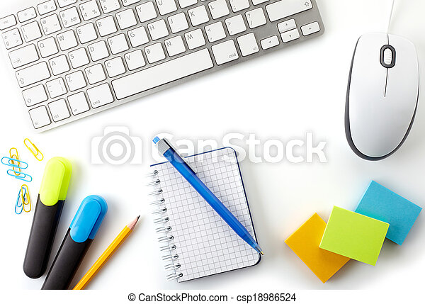 Office desktop - csp18986524