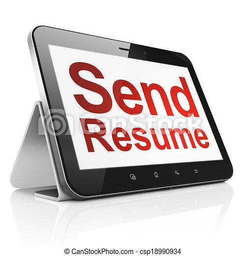 Free resume tablet