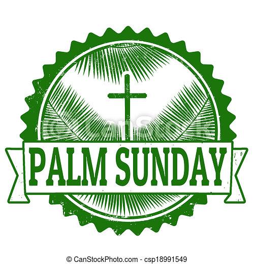 Palm Sunday Palm Sunday Stamp Palm