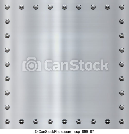 steel alloy metal background - csp1899187