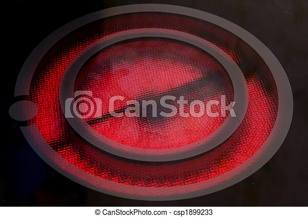 ring is heated up to is red - csp1899233