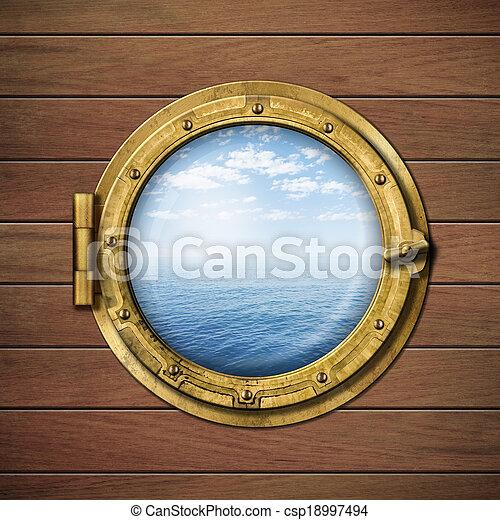 Banque de photographies de bateau fen tre ou hublot for Fenetre hublot