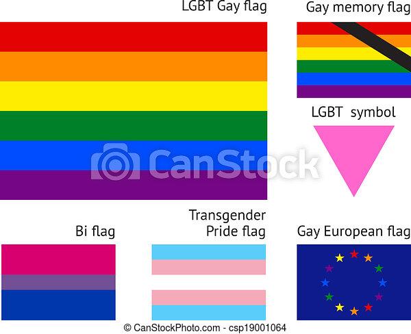 LGBT Gay flags - csp19001064