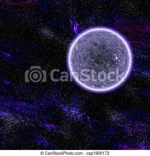 Cosmic space planet - csp1900172