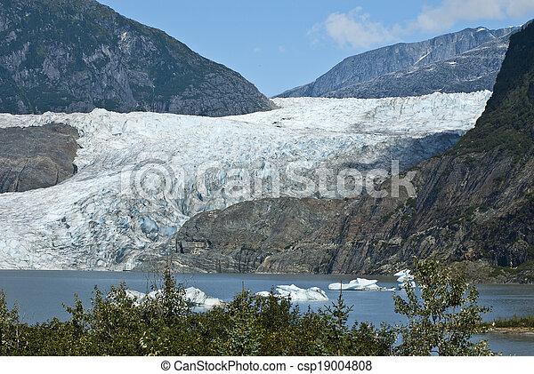 USA Alaska - Mendenhall Glacier  - csp19004808