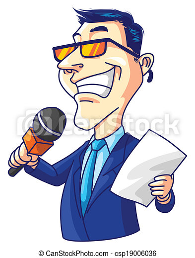 Reporter Man 19006036 on Weather Or Not Clipart Download