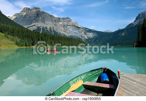 Emerald lake - csp1900855