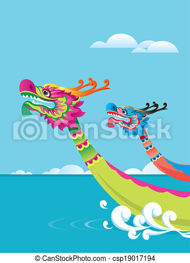 ... Boat Festival_Dragon Boat Festival Cartoon