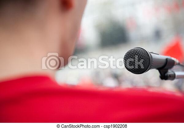 演說, 公眾 - csp1902208