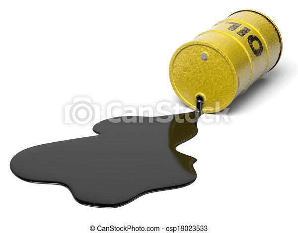 Oil Barrel Drawing Oil Barrel Csp19023533