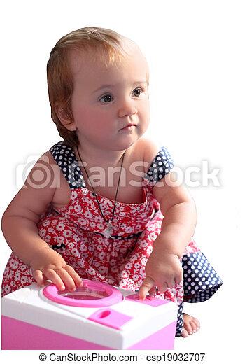 The baby. - csp19032707