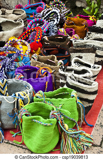 Fashion - Crochet handbags - csp19039813