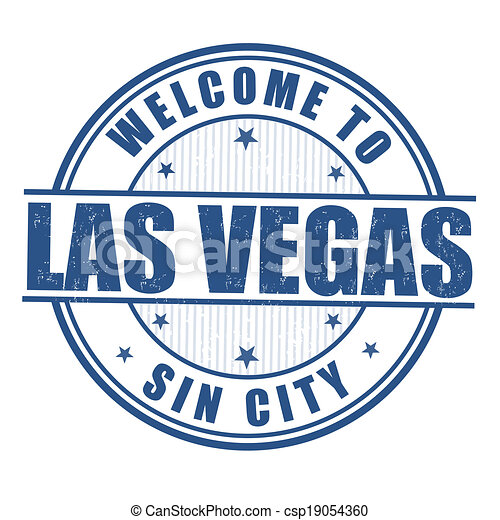 Clip Art Vector of Welcome to Las Vegas stamp - Welcome to Las Vegas ...