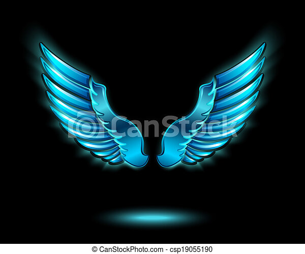 wings - stock illustration, royalty free illustrations, stock clip art ...
